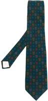 Saint Laurent Pre Owned printed tie
