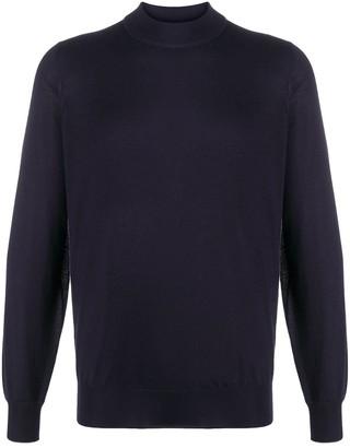 Brunello Cucinelli Long-Sleeved Mock Neck Sweater