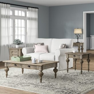 Three Posts Clintwood 4 Piece Coffee Table Set