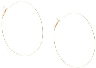 Petite Grand Fine Wire Hoop Earrings
