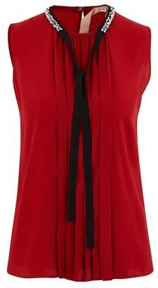 N°21 Pleated blouse