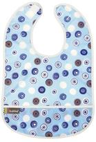 Kushies Cleanbib 12M+ Boy Blue Crazy Circles 2
