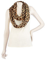 Joan Rivers Classics Collection As Is Joan Rivers Animal Print Infinity Scarf