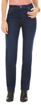Style&Co. Style & Co High Rise Straight-Leg Jeans, Created for Macy's