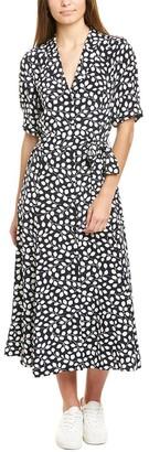 Diane von Furstenberg Lily Silk Midi Dress