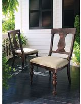 Paula Deen Home Paula's Side Chair in Tobacco Finish (Set of 2)