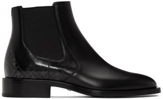 Fendi Black Forever Chelsea Boots