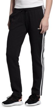 adidas Women's Essentials 3-Stripe Fleece Pants