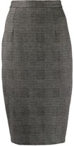 Styland fitted pencil skirt