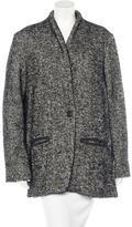 Isabel Marant Short Wool-Blend Coat