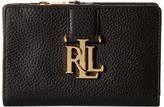 Lauren Ralph Lauren Carrington New Compact Wallet Wallet Handbags