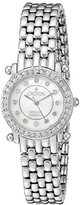 Croton Women's CN207535SSMP Analog Display Quartz Silver Watch