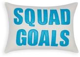 Alexandra Ferguson Squad Goals Decorative Pillow, 10 x 14 - 100% Exclusive