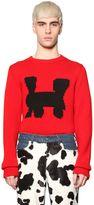 Au Jour Le Jour Train Intarsia Wool Sweater