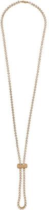 Jacquemus Gold Le Cordon Swarovski Necklace