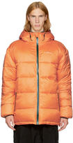 Perks And Mini Reversible Orange First Contact Puffer Jacket