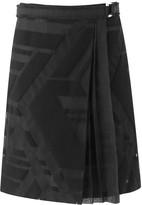 Amanda Wakeley Jansen Black Wrap Skirt