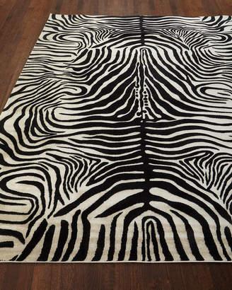 Barclay Butera Dariya Power-Loomed Zebra Rug, 7.9' x 10'