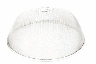 Davis & Waddell Stainless Steel Mesh Food Cover 35 x 15cm White