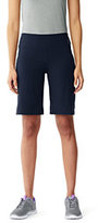 Classic Women's Petite Active Relaxed Shorts Navy