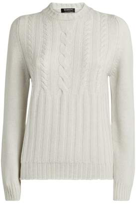 Harrods Cashmere Cable-Knit Sweater