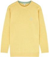 Loewe Yellow Anagram-embroidered Wool Jumper