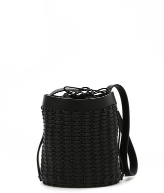 Paco Rabanne Discs Bucket Bag