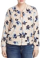 Junarose Lakka Floral Print Bomber Jacket