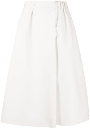 Dice Kayek Inverted Pleat Skirt
