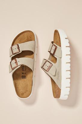 Birkenstock Arizona Platform Sandals By in Beige Size 37