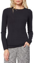 Michael Stars Women's Long Sleeve Crewneck Top