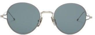 Thom Browne Round Metal Sunglasses - Grey