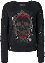 Philipp Plein embroidered sweater