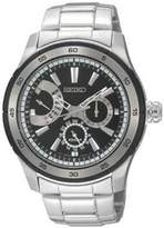 Seiko Men's SNT019 Silver Stainless-Steel Analog Quartz Watch with Dial