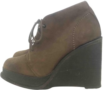 Rag & Bone Brown Suede Ankle boots