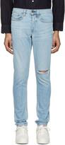 Rag & Bone Ssense Exclusive Blue Standard Issue Fit 1 Jeans