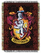 Warner Brothers Warner Brothers Harry Potter Gryffindor Triple Woven Tapestry Throw