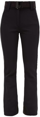 Pippa Goldbergh Flared Technical Ski Trousers - Womens - Black