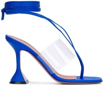 Amina Muaddi Ankle Strap Sandals