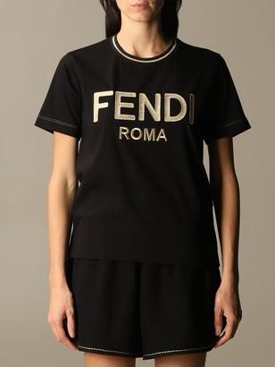Fendi T-shirt With Roma Logo