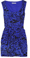 by s.miller Printed silk-cotton blend dress