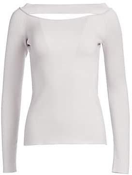db5fa7efeef110 Cutout Sweater - ShopStyle