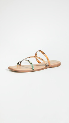 Madewell Leslie Bare Square Toe Sandals
