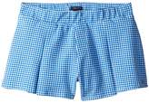 Tommy Hilfiger Pleated Pull-On Shorts Girl's Shorts