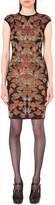Alexander McQueen Butterfly jacquard-knit dress