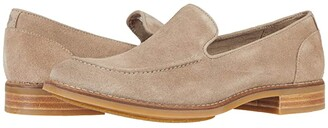 Sperry Fairpoint Loafer Suede (Grey) Women's Shoes