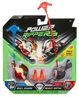 Power Rangers Power Rippers Bull Shark vs. Heavy Metal 2pk