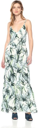 Somedays Lovin Women's Palm Fringed Maxi Dress