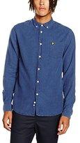 Lyle & Scott Men's Oxford Button Down Regular Fit long Sleeve Casual Shirt