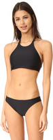 Basta Surf Popoyo Reversible Ribbon High Neck Bikini Top